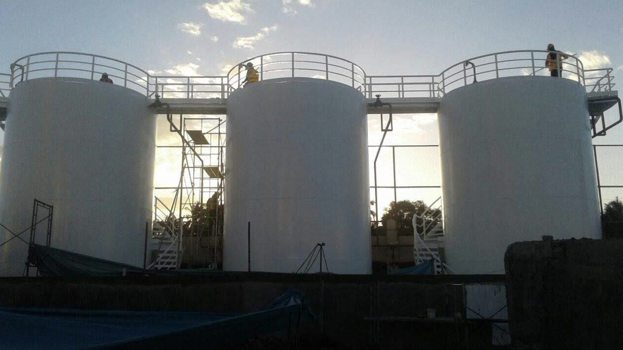 Steel Tanks fabricated by Astron Metal
