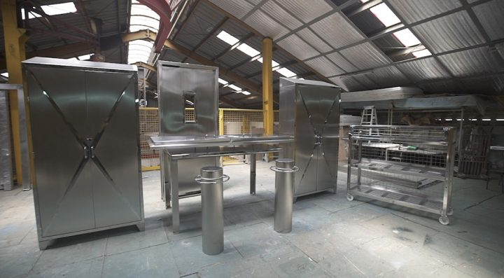 Sheet Metal fabricated items by Astron Metal
