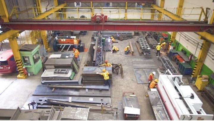 Sheet Metal Fabrication at Astron Metal plant