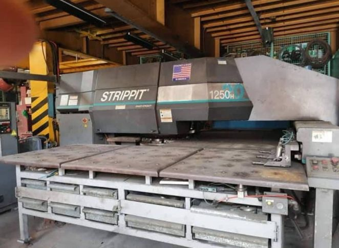 CNC Turret Press machine of Astron metal