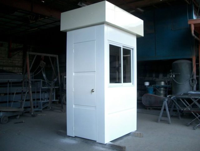 Modular booths by Astron Metal
