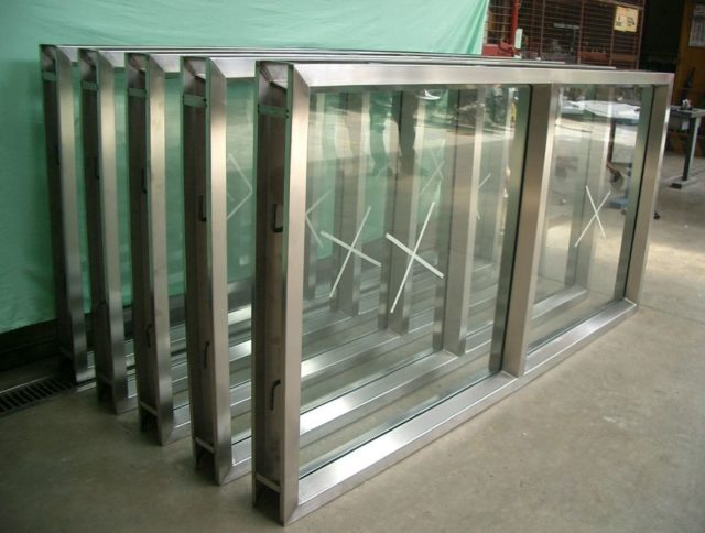 Steel fabricated windows by Astron Metal