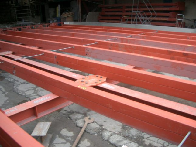 Tapered flange beams